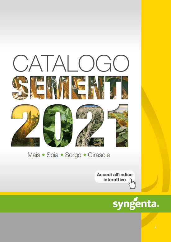 catalogo sementi mais 2021